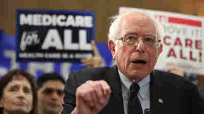 As Sanders Calls For 'Medicare-For-All,' A Twist On That Plan Gains Traction