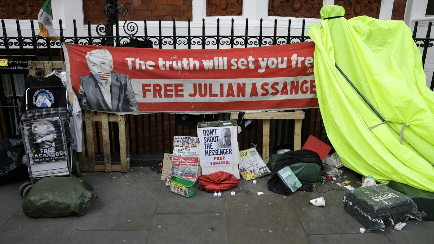 Breaking News Update: Julian Assange Arrested