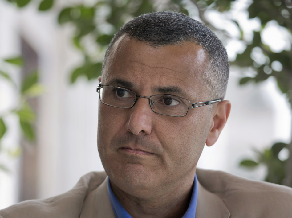 A Qatari-born Palestinian, Omar Barghouti (shown in 2016) is a leader of the international boycott, divestment and sanctions movement against Israel known as BDS. (Nasser Nasser/AP)