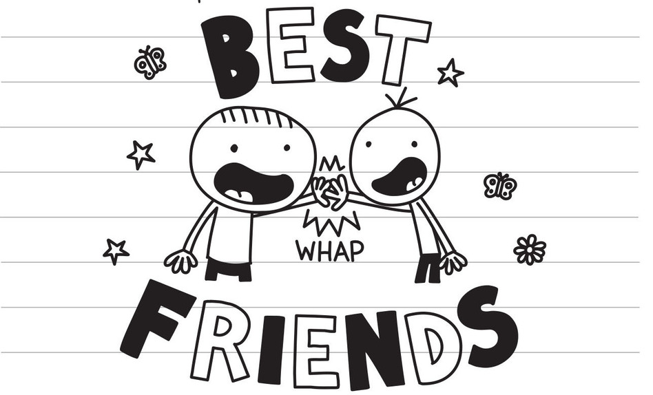 """""""The first thing you need to know about me is that I am Greg Heffley's best friend,"""" Rowley Jefferson writes in his journal. """"I know it says that on the cover but I wanted to mention it in case you missed that part."""" (Jeff Kinney/Amulet Books)"""