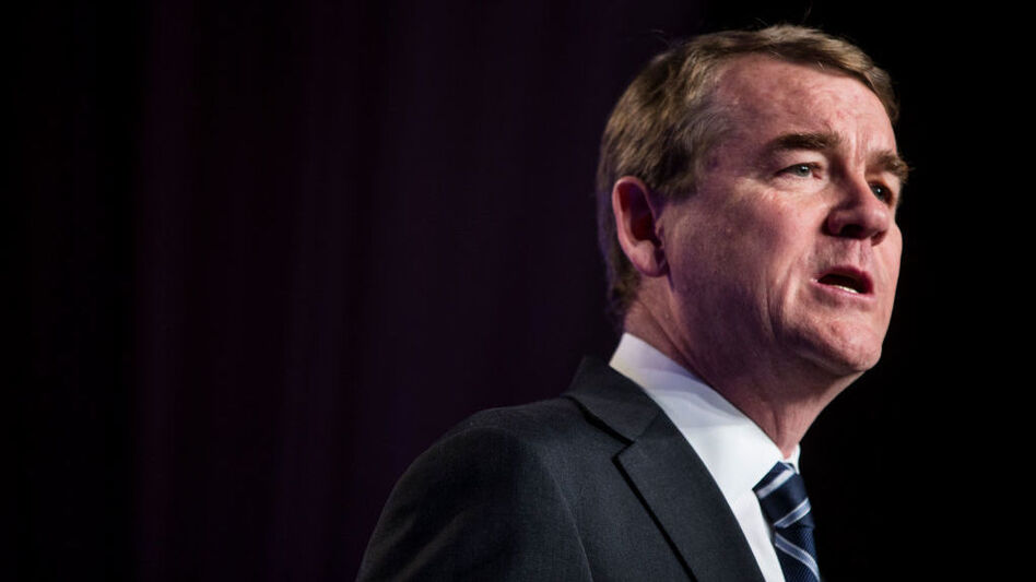 Colorado Sen. Michael Bennet announced last month<strong> </strong>that he had been diagnosed with prostate cancer following a routine physical, delaying his planned White House announcement. (Zach Gibson/Getty Images)