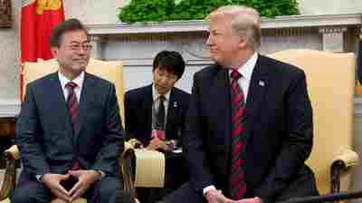 South Korean Leader Looks To Jump Start U.S.-North Korea Talks After Failed Summit