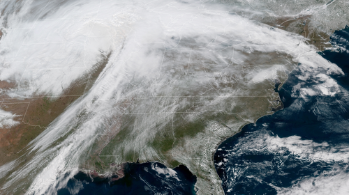 'Bomb Cyclone' Shutters Schools, Makes Roads Impassable In Central U.S.