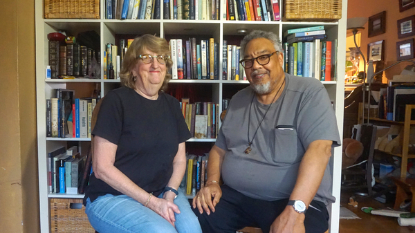 Judith Washburn and her husband, James Davis, have volunteered to be subjects in Project Baseline, an effort to gather a range of detailed data to characterize and predict how people move from health to illness.