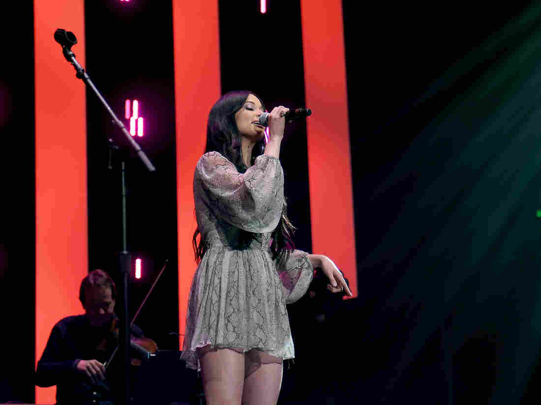 Kacey Musgraves performs onstage for Loretta Lynn: An All-Star Birthday Celebration Concert at Bridgestone Arena on April 1, 2019 in Nashville, Tennessee.