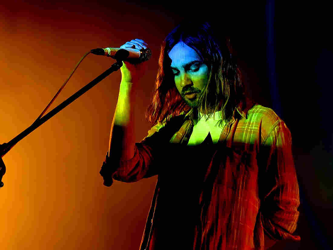 Kevin Parker of Tame Impala performs onstage during FYF Fest 2016 at Los Angeles Sports Arena on August 27, 2016 in Los Angeles, California.