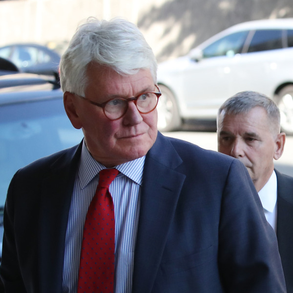 Greg Craig arrives for a hearing at U.S. District Court in Washington, D.C., on Oct. 17, 2016.
