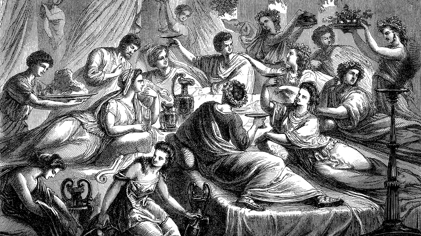 The Lavish Roman Banquet: A Calculated Display Of