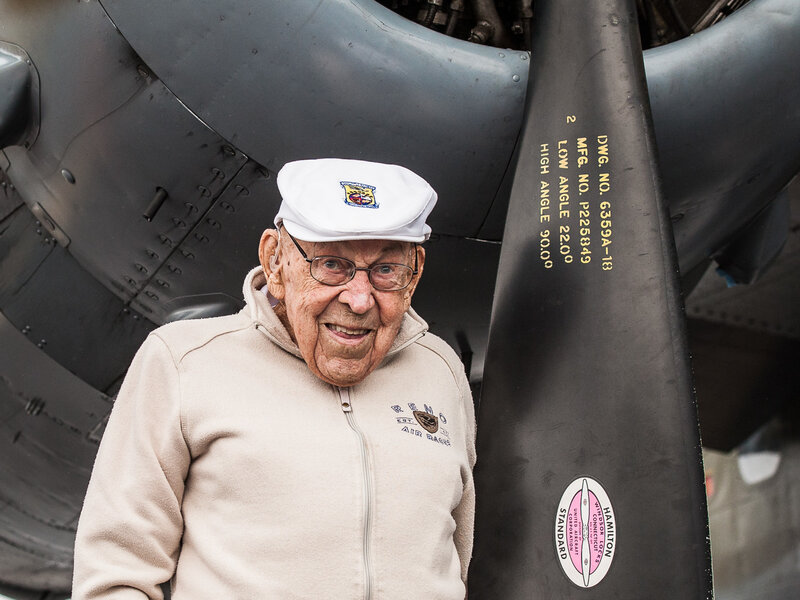 d81b093f561 Remembering Dick Cole, Who Risked His Life In WWII Doolittle Raid : NPR