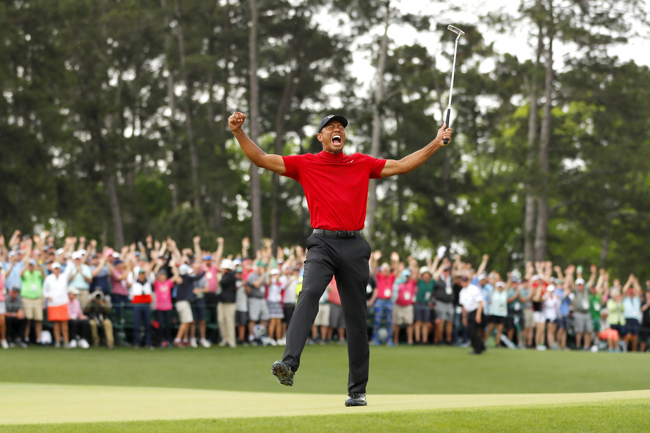 tiger woods wins his 5th masters title  marking a career