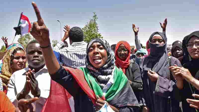Bashir May Be Out, But Sudanese Protesters With 'Eye On The Prize' Won't Budge