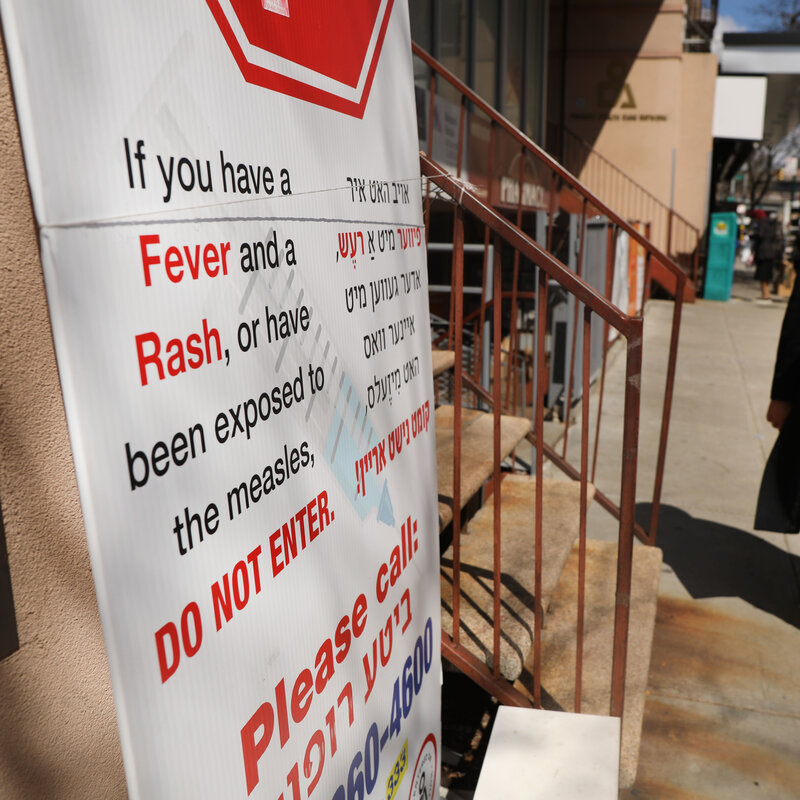 As Measles Cases Climb, Doctors Say Some Adults Need A
