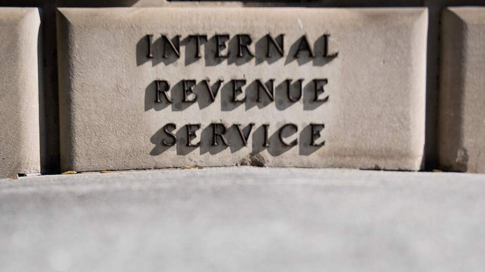 The IRS budget has been cut sharply over the past decade, but President Trump has suggested spending an extra $362 million on tax enforcement next year. (Jim Watson/AFP/Getty Images)