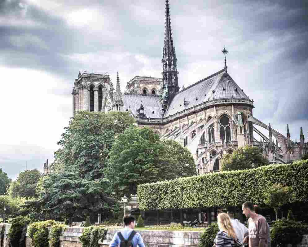 I worked in Paris for six months after college and visited Notre Dame at least once a week. It was a place of refuge and beauty for me, one that I will never forget.