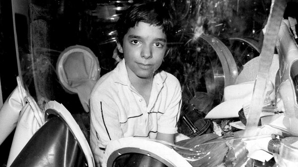 David Vetter, pictured in September 1982 inside part of the bubble environment that was his protective home until he died in 1984. Today most kids born with SCID are successfully treated with bone marrow transplants, but researchers think gene therapy is the future.