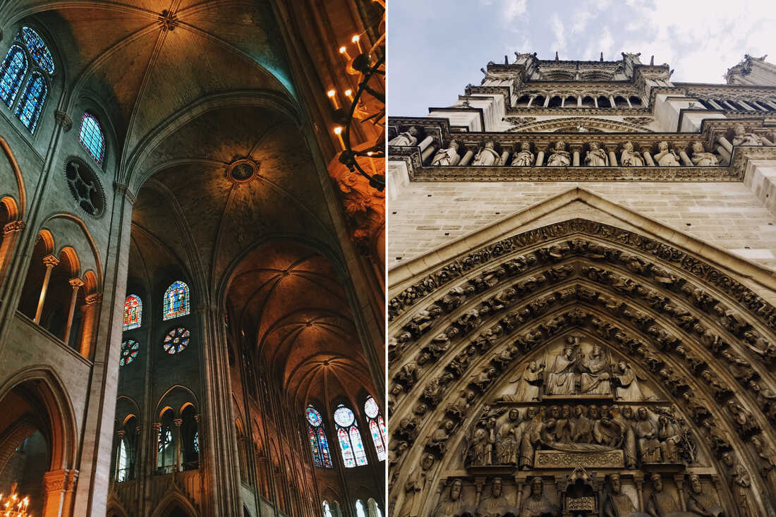 The Notre Dame will always be one of my favorite memories while visiting Paris. The architecture, art and history was a marvelous experience to take in. The peace one felt walking in a crowded cathedral filled with tourist is unexplainable! This needed to be seen in person
