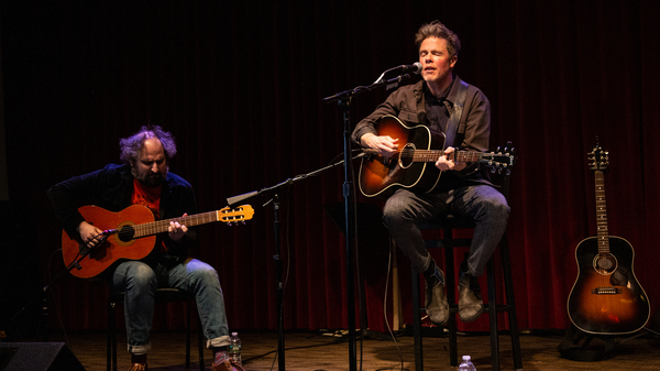 Josh Ritter performs live for World Cafe