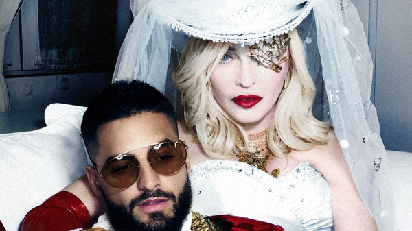 """Madonna and Maluma pair up for """"Medellin,"""" Madge"""