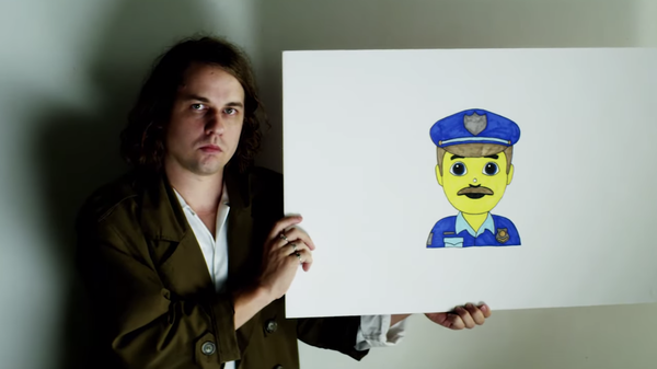 """Kevin Morby in a scene from his video for the song """"OMG Rock N Roll."""""""