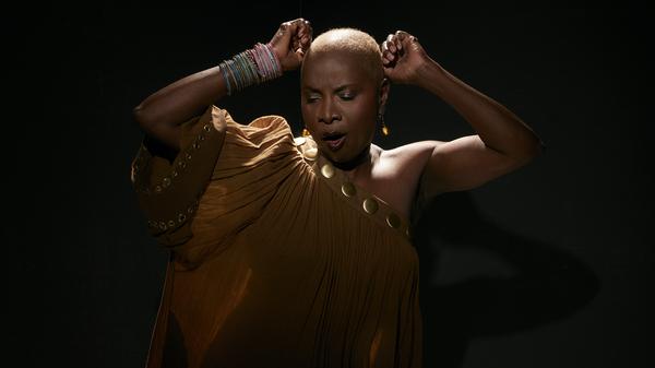 Vocalist Angelique Kidjo pays tribute to Celia Cruz on her new album, Celia.