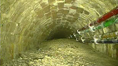 'Concreteberg' The Weight Of A Blue Whale Plagues London's Sewers
