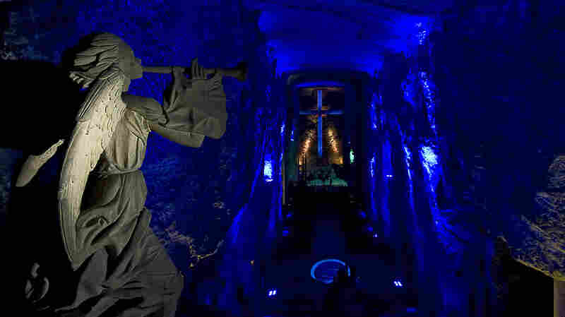 Colombia's Salt Cathedral Is A Marvel Of Architecture And A Popular House Of Worship