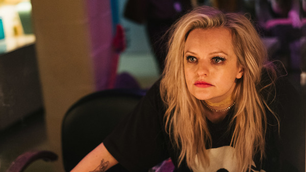 Elisabeth Moss plays Becky Something, a punk singer struggling with substance abuse, in the new film Her Smell.