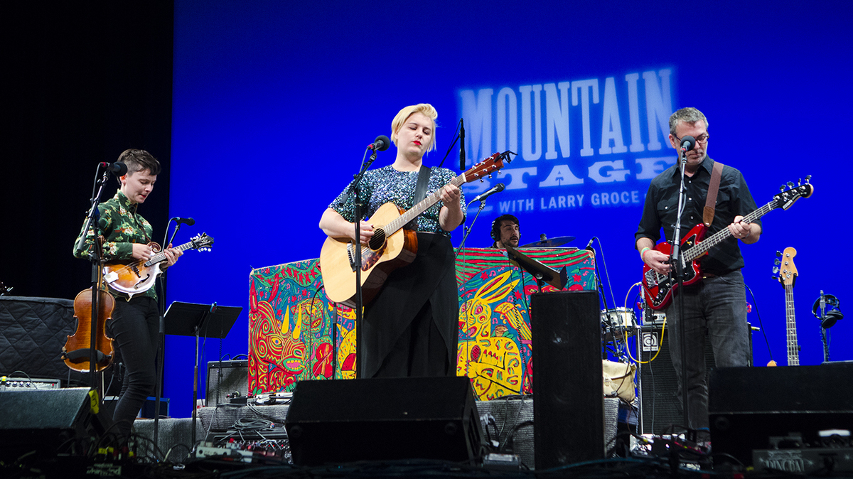 Oh Pep! On Mountain Stage