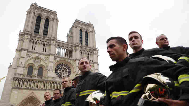 Opinion: Amid Devastation, Paris Firefighters' Bravery Is An Inspiration