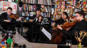 The Calidore String Quartet: Tiny Desk Concert