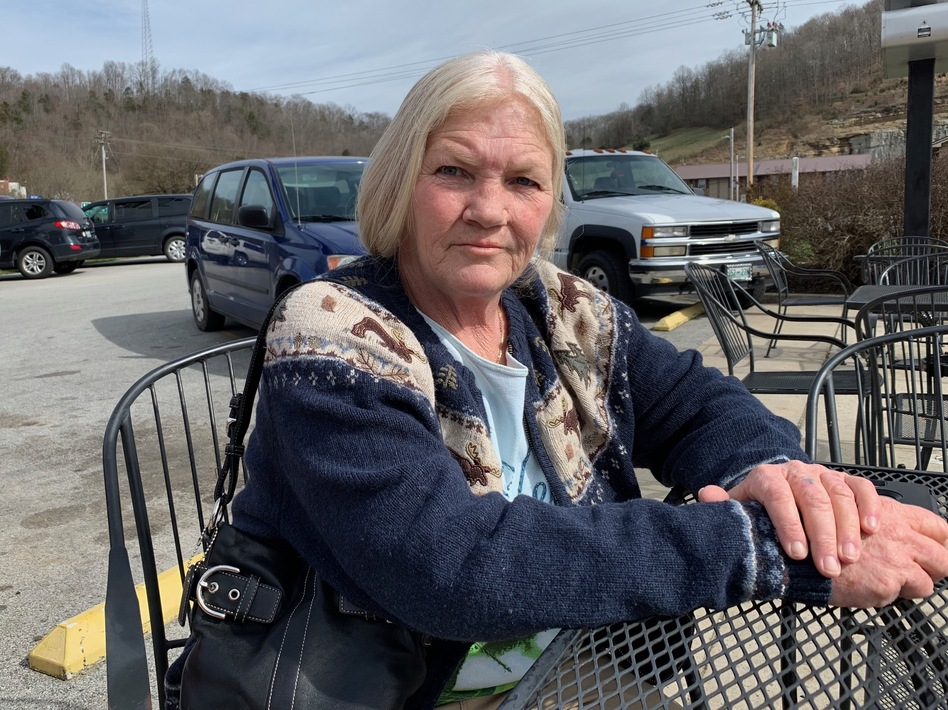 Gail Gray suffers from degenerative disc disease and takes daily painkillers. Her pharmacist was arrested in a recent federal justice department sting. (Blake Farmer/WPLN)