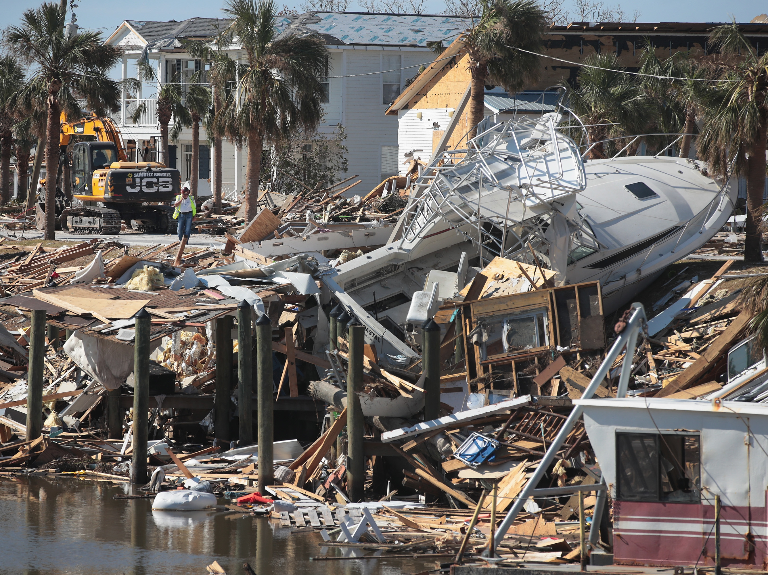 Hurricane Michael Was A Category 5, NOAA Finds — The First Since Andrew In 1992