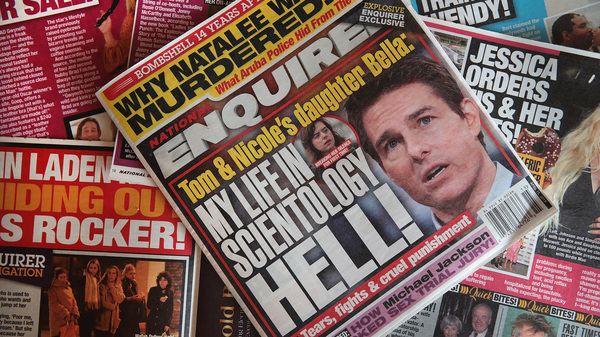 National Enquirer  To Be Sold To Hudson News Heir James Cohen