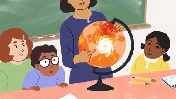 More than 80% of parents in the U.S. support the teaching of climate change, according to a new NPR/Ipsos poll.