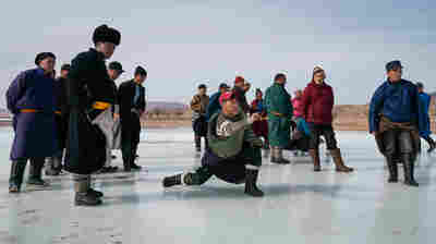 For Mongolia's Ice Shooters, Warmer Winters Mean A Shorter Sports Season