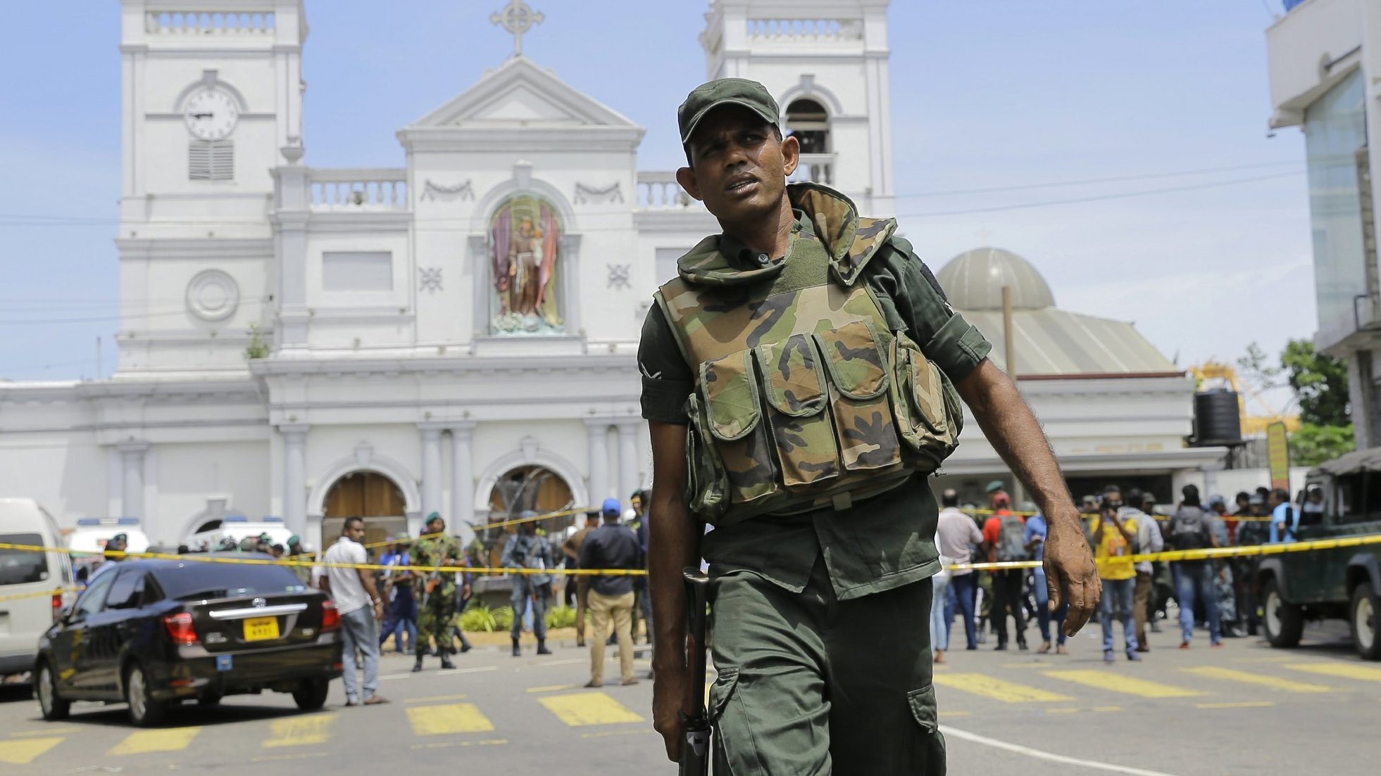 npr.org - Sri Lanka Explosions Target Churches and Hotels, Killing At Least 129