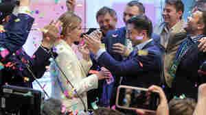 Comedian Wins Ukrainian Presidency In Landslide