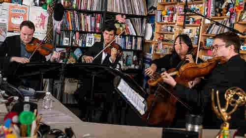 The Calidore String Quartet: Tiny Desk Concert