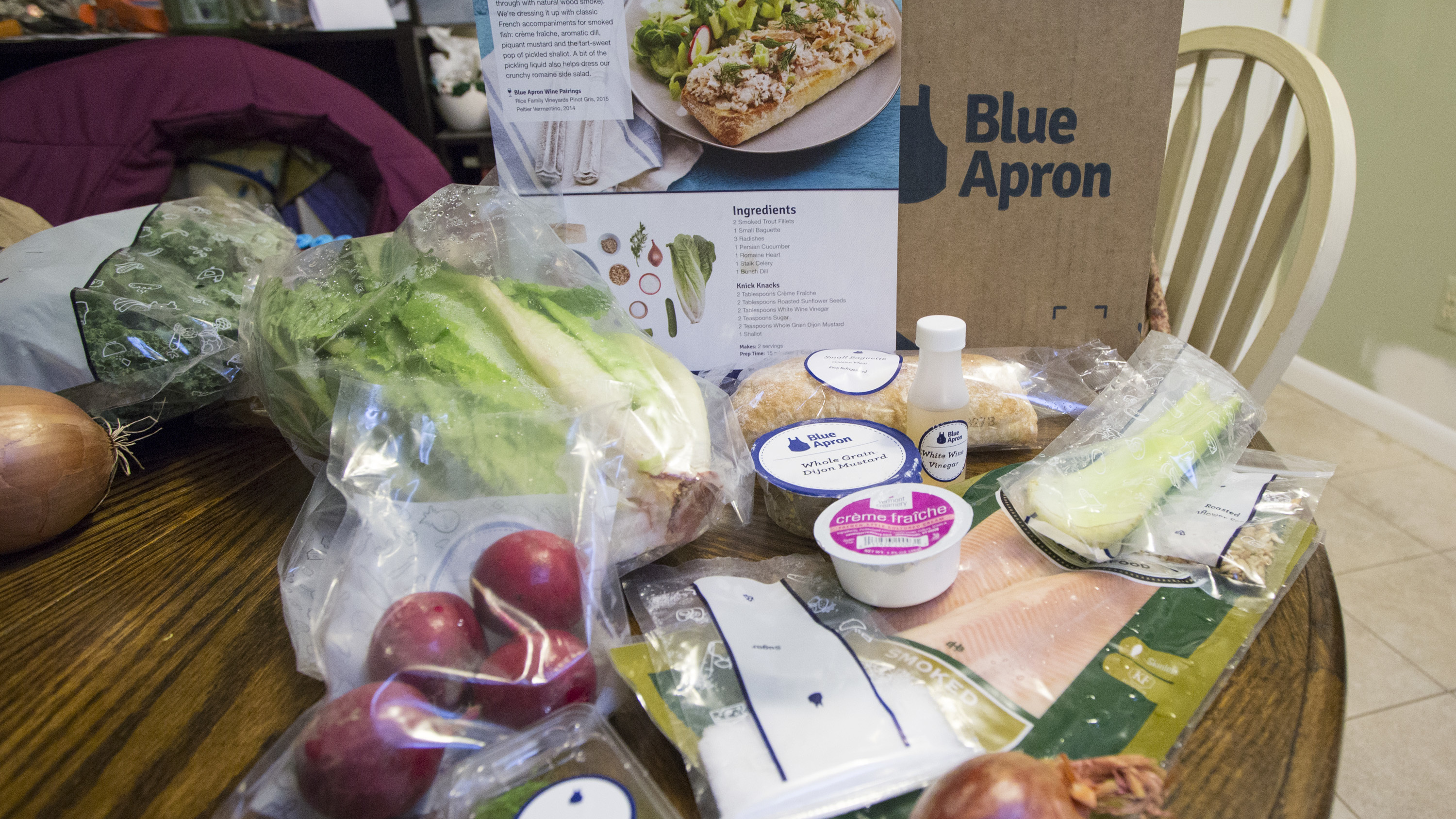 Meal kits are better for the environment than grocery store meals