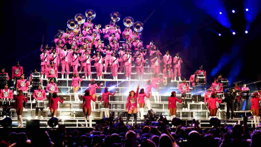 'Homecoming,' From The Bleachers: Members Of Beyoncé's Marching Band Look Back