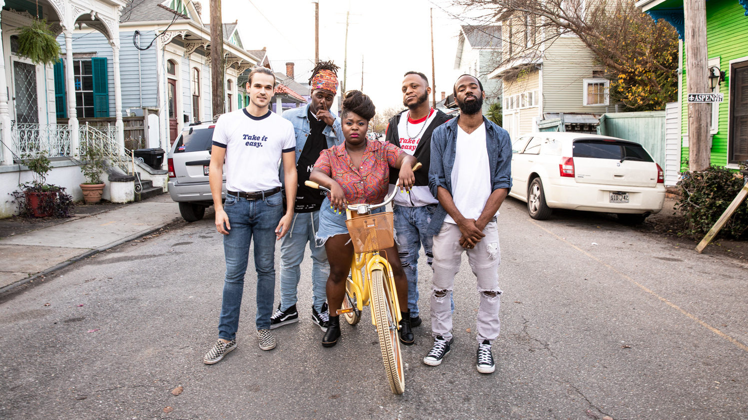 First Listen: Tank And The Bangas, 'Green Balloon'