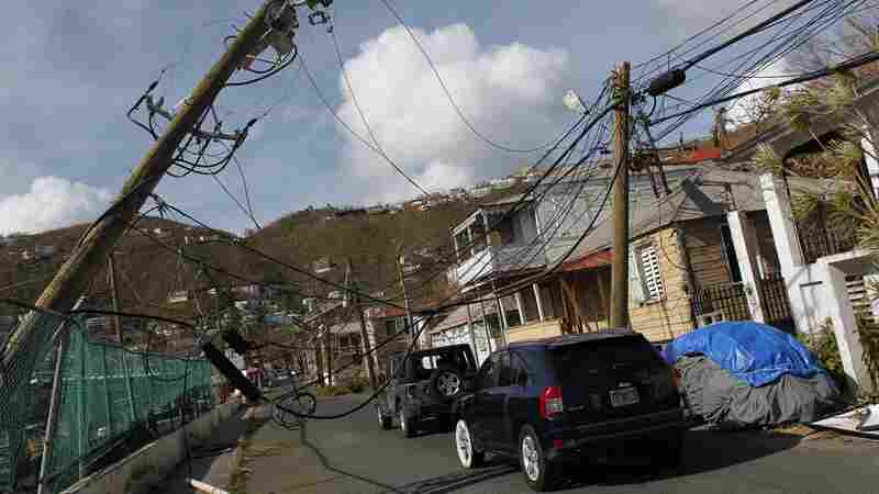 After 2 Hurricanes, A 'Floodgate' Of Mental Health Issues In U.S. Virgin Islands