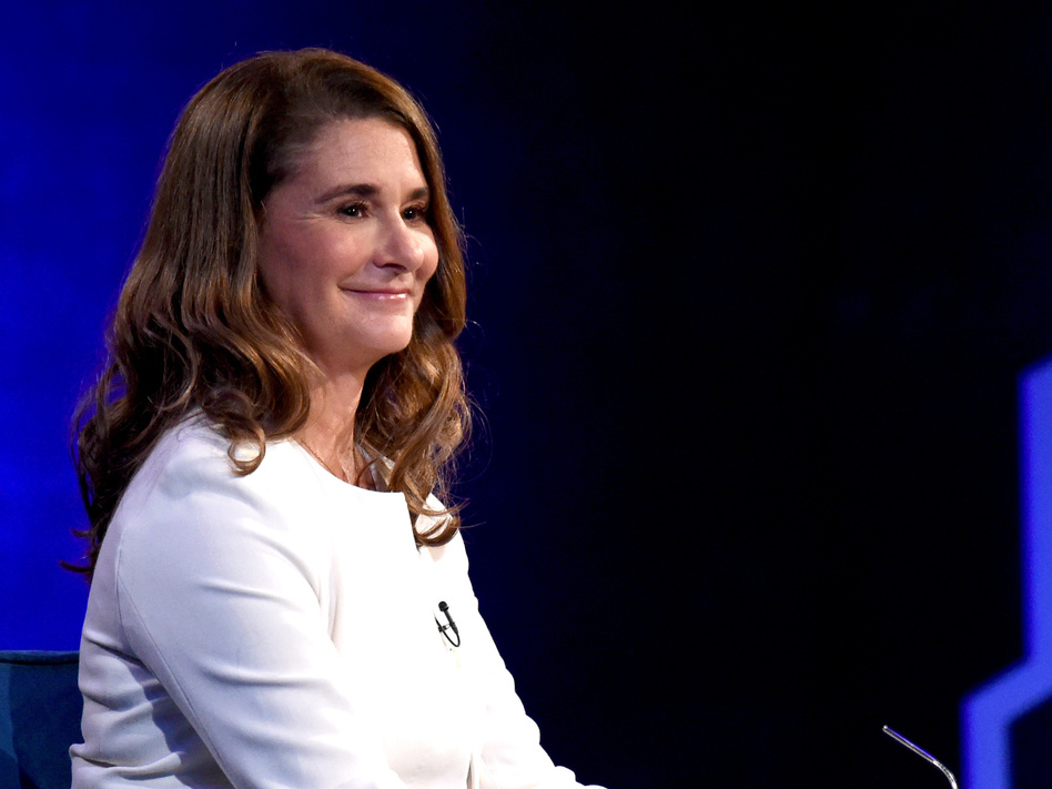 Melinda Gates speaks during Oprah's SuperSoul Conversations at PlayStation Theater on Feb. 5 in New York City. (Jamie McCarthy/Getty Images)