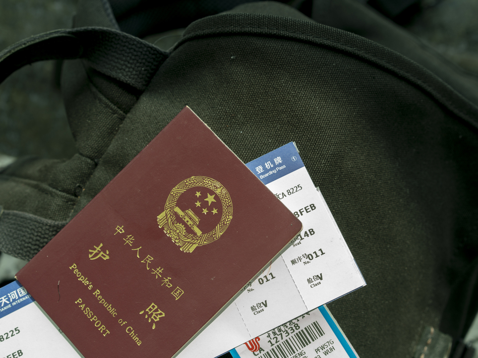 This year, the U.S. canceled visas for Chinese government-linked scholars over concerns that such exchanges are conduits for peddling influence and for espionage. Increased scrutiny has delayed visas to hundreds of Chinese students. Meanwhile, American academics are having difficulty receiving visas to China. (Zhang Peng/LightRocket via Getty Images)