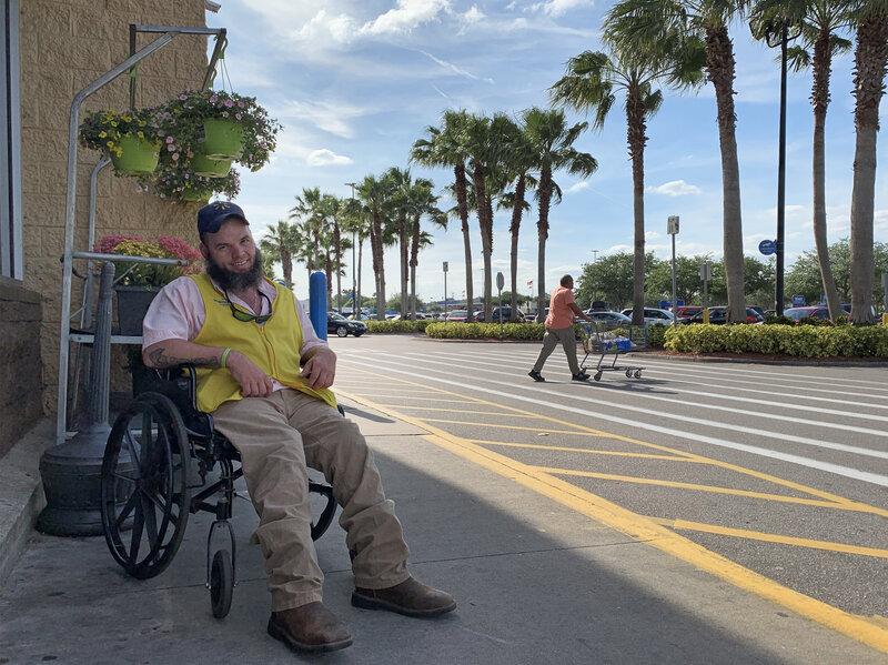 As Walmart Eliminates Greeters, A Worker's Dream Is In Limbo : NPR