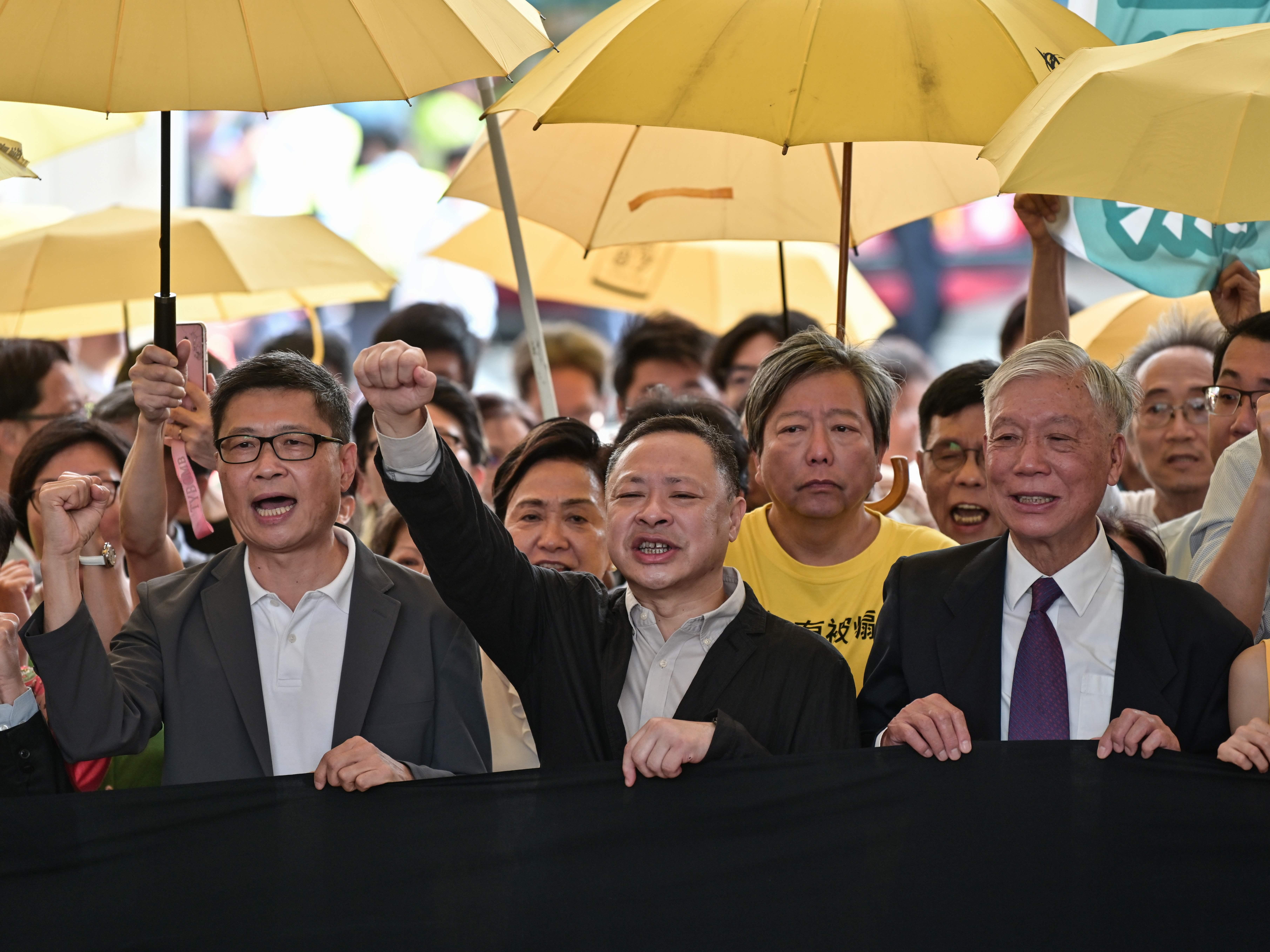 'Umbrella' Protesters Sentenced For 2014 Hong Kong Pro-Democracy Demonstration