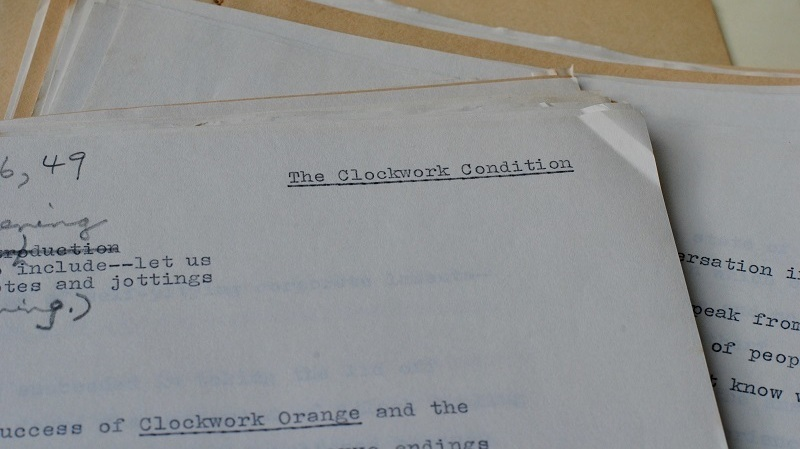 A Horrorshow Find: 'Clockwork Orange' Follow-up Surfaces After Decades Unseen