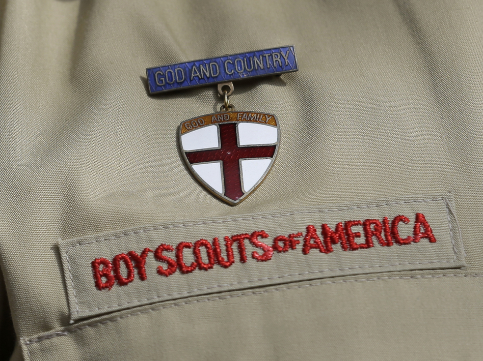 According to a researcher hired by the Boy Scouts of America to review internal files, more than 12,000 children have been sexually assaulted while participating in its programs. (Tony Gutierrez/AP)