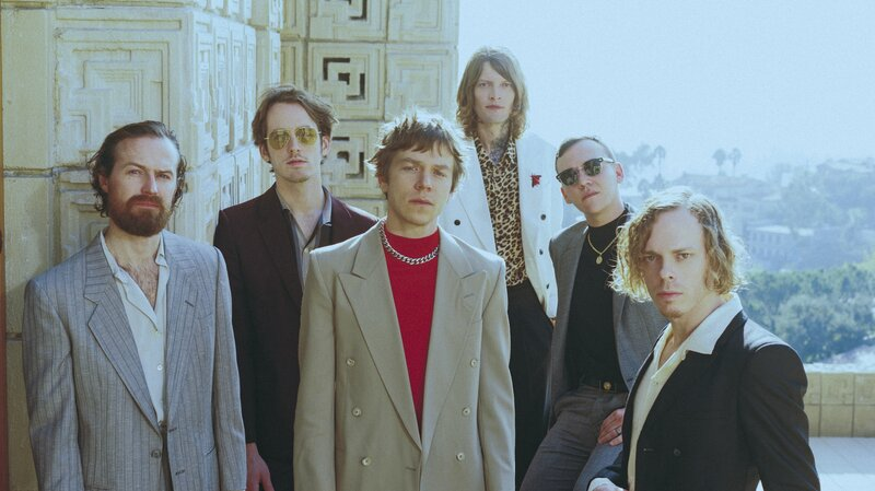 Cage The Elephant Process Grief With Social Cues Album Npr