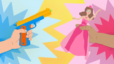 The Problem With Toy Guns And Princesses